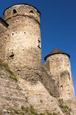 Old castle's watchtowers — Stock Photo