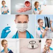 Medical Collage — Stock Photo #10966275