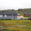 Norwegian fishing village in summer. Finnmark. — Stock Photo #10826584