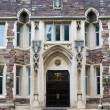 green hall building in campus of princeton university — Stock Photo