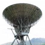 Centro de investigación electromagnética en las montañas noruegas — Foto de Stock