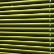 Green jalousie with stripes of light — Stok Fotoğraf #11006178
