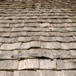 Background of old wood roof - Stock Photo