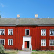 Ancient Swedish house in Scansen. — Stock Photo