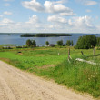 Finnish country landscape — Stock Photo