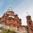 Orthodox cathedral in Helsinki — Stock Photo