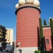 Tower of Dali Theatre and Museum in Figueres — Stock Photo