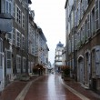 Old curve street of Europe — Stock Photo #11176382