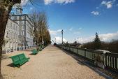 Spring boulevard of Pyrenees, Pau — Stock Photo