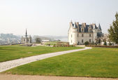 French castle of Amboise — Stock Photo