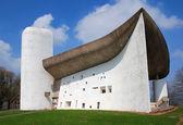 A capela de notre dame du haut, ronchamp — Foto Stock