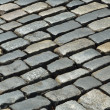 Постер, плакат: Close up of old block pavement