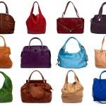 Set of multicolored female bags-1 — Stock Photo #10765818