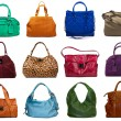 Royalty-Free Stock Photo: Set of multicolored female bags-7