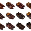 Brown men's shoes-1 — Stock fotografie