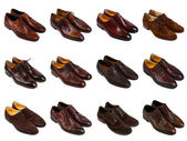 Brown men's shoes-1 — Stock Photo