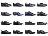Dark men's shoes-2 — Stock Photo