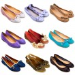 Ballet flat shoes-2 — Stock Photo #11187951