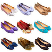 Ballet flat shoes-2 — Stock Photo