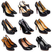 Dark female shoes-4 — Stock Photo