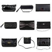 Dark female purses-1 — Stock Photo