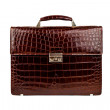 Brown male briefcase-1 — Stock fotografie