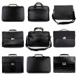 Dark male briefcases-2 — Stock Photo
