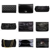 Dark female purses-3 — Stock Photo