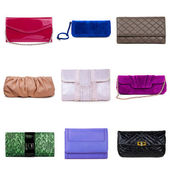 Multicolored female purses-5 — Stock Photo