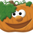 Stock Photo: Happy Pumkin illustration