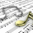 Musical notes — Stock Photo #11114623