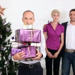 Family Christmas — Stock Photo