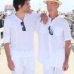 中年男人和儿子 — 图库照片 #10838194