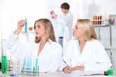 Studients in the Labs — Stock Photo