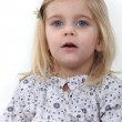 Portrait of a young child — Stock Photo