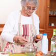 Stock Photo: Woman in the Kitchen