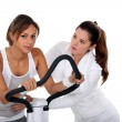 Stock Photo: Personal trainer