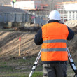 Surveyor on site - Photo
