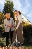 Gardening work — Stock Photo