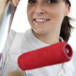 Female painter — Stock Photo #10854520