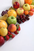 Large variety of fruit — Stock Photo