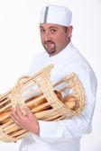 Portrait of a baker — Stock Photo