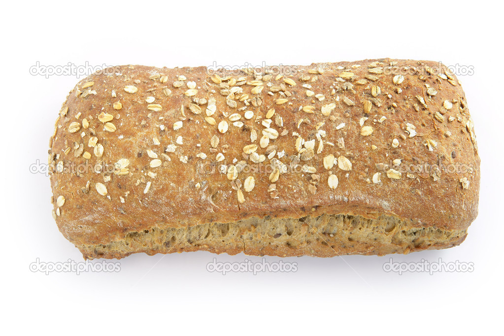 Artisan style loaf of bread  Stock Photo #10852581