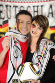 Proud German couple — Stock Photo