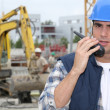 Stock Photo: Construction Technician