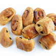 Pain au chocolats — Stock Photo