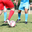 Football match - Stock Photo