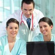 A group of medical professionals - Stock Photo