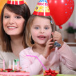 Stock Photo: A birthday party