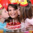 Child's birthday — Stok fotoğraf